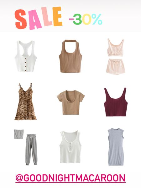 """Huge spring sale! 30% off site-wide at Goodnight Macaroon , the cutest boutique ever! Use code """"spring2021"""" . Have so many cute loungewear items, basic tops, jeans , dresses, you name it. I ordered tts. #LTKsalealert #LTKstyletip #LTKunder100 @liketoknow.it.family @liketoknow.it #liketkit http://liketk.it/3fPlP Shop your screenshot of this pic with the LIKEtoKNOW.it shopping app"""