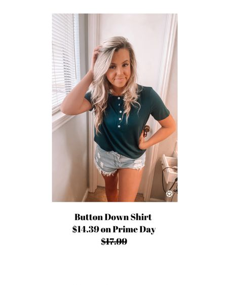 Button down shirt - wearing a medium.    http://liketk.it/3i7r5 #liketkit @liketoknow.it #LTKunder50 #LTKsalealert #LTKstyletip