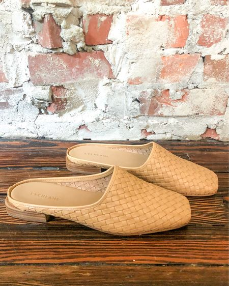 These woven leather mules are super comfortable & I love that I can wear them with my summer dresses now & then with jeans & a sweater or button down come fall. I much prefer to buy pieces that don't have specific seasons (or at least can work for more than 1!)! #sustainablestyle #fallstyle   #LTKshoecrush #LTKstyletip
