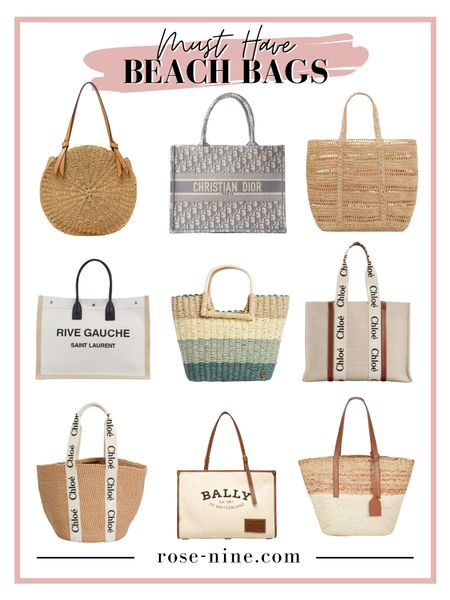 Must Have Designer Tote Bags. Perfect beach bags for summer that will last you forever! Personally I have been on a Chloé kick lately, their products are 100% worth every penny #LTKtravel #LTKswim #LTKitbag #designertote #summer #beachbags #designertotebags #designerbeachbags #chloébags #dior #ysl #saintlaurent #yvessaintlaurent #bally #summertote #beachtote #liketkit @liketoknow.it http://liketk.it/3eQnC