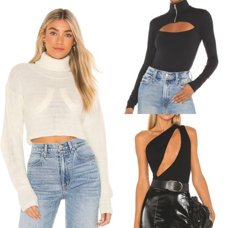new spring favorites: weekend ready, date night, black bodysuit, white crop sweater. 🤍  http://liketk.it/3brGY   #liketkit #LTKstyletip #LTKunder100 #LTKSpringSale   @liketoknow.it