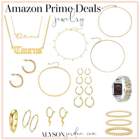 Amazon prime day deals.. jewelry @amazon #LTKunder50 #LTKsalealert #LTKstyletip @liketoknow.it #liketkit http://liketk.it/3ibfj