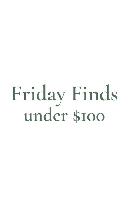 Fashion finds under $100!  #LTKunder100