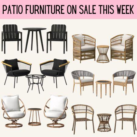 Patio furniture on sale until Saturday! http://liketk.it/3f8dH #liketkit @liketoknow.it #LTKhome #LTKsalealert