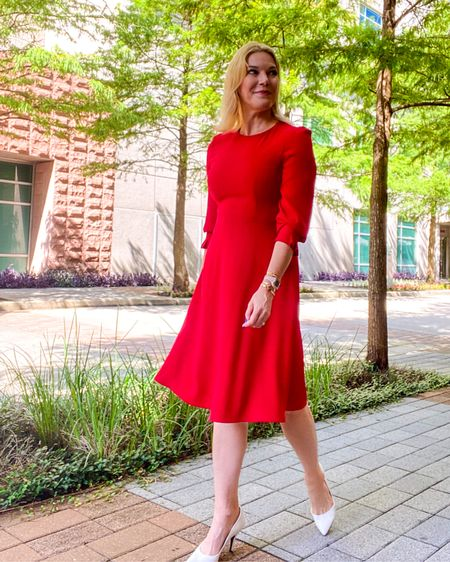 Must have #workdress under $40 and tons of colors 👉 http://liketk.it/3iLSM or Shop your screenshot of this pic with the LIKEtoKNOW.it shopping app @liketoknow.it #liketkit #LTKworkwear #LTKunder50 #LTKstyletip #amazonfinds #amazonoutfit #summerdress #weddingguest #weddingguestdress #weddingguestoutfit