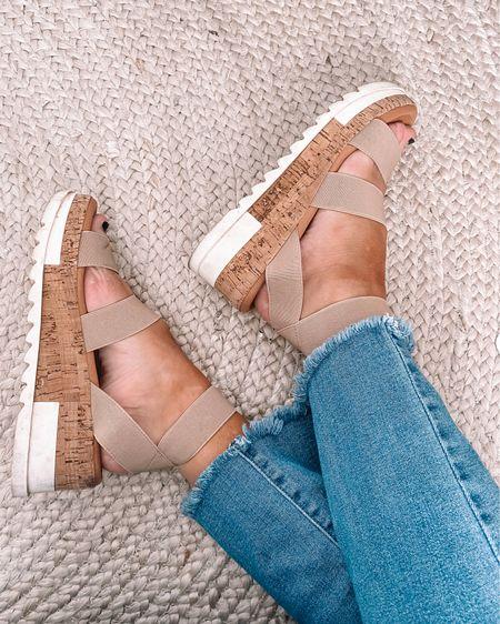 Amazon jeans - true to size  Amazon espadrille wedges - true to size  Amazon shoes amazon summer shoes amazon spring shoes #LTKshoecrush #LTKunder50 #LTKunder100 http://liketk.it/3axqe #liketkit @liketoknow.it