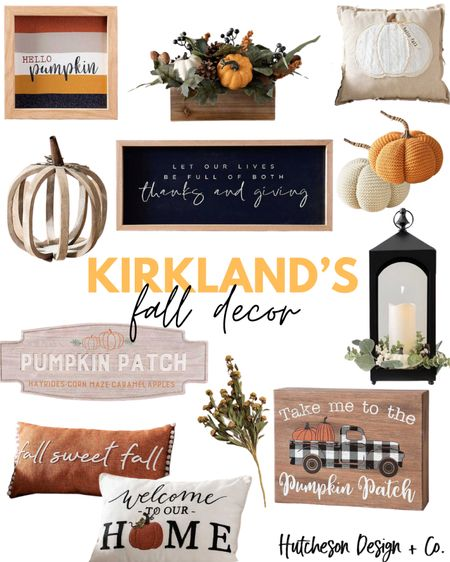 Kirkland's is having a huge fall sale right now & here are a few of our favorite items!! • Use code: FALL2020 to save 20% on any single fall or harvest item! •  http://liketk.it/2WxjO #liketkit @liketoknow.it #LTKhome #LTKsalealert #LTKunder50 @liketoknow.it.home • • You can instantly shop all of my looks by following me on the LIKEtoKNOW.it shopping app