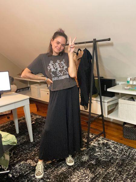 Petal & Pup pants. Comfortable summer outfit. Comfy pants. Junk food clothing tee. Grateful Dead T-shirt. Nena Evans petal and pup.   #LTKSeasonal #LTKunder100 #LTKstyletip
