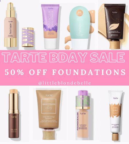 CODE: BDAY . . . Tarte Cosmetics, tarte, foundation, tinted moisturizer   #LTKsalealert #LTKunder50 #LTKbeauty