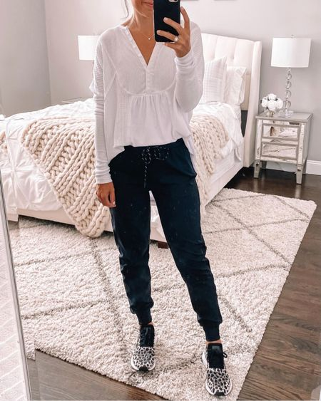 Cutest Free People tunic thermal is back this year for NSALE as is the best joggers from the sale!! 🙌🏼  #LTKfit #LTKunder100 #LTKsalealert