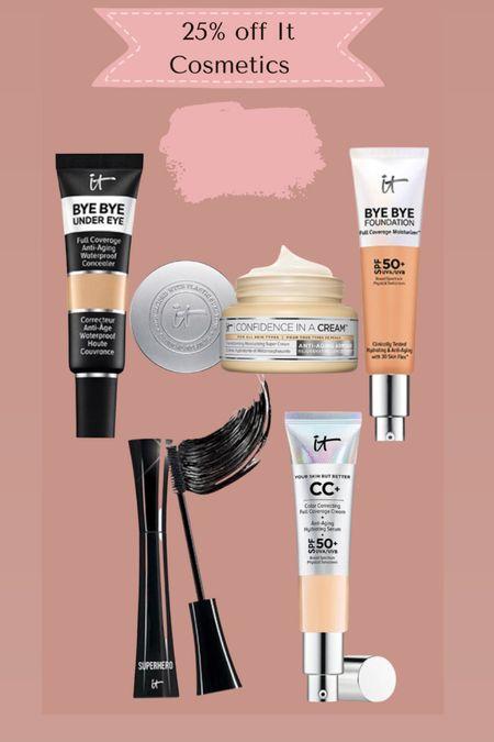 It cosmetics 25% off   #LTKbeauty #LTKSale #LTKsalealert