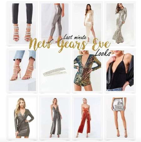 Sexy, sparkly NYE looks for the last minute shopper. http://liketk.it/2IylP @liketoknow.it #liketkit
