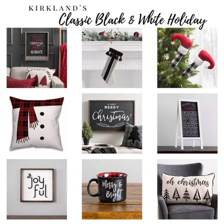 Keep your holiday decor classic and chic with these black and white #Christmas decor finds from Kirkland's! @liketoknow.it @liketoknow.it.home @liketoknow.it.family #liketkit #LTKstyletip #LTKhome #StayHomeWithLTK You can instantly shop my looks by following me on the LIKEtoKNOW.it shopping app! ➡️ http://liketk.it/2ZRQg