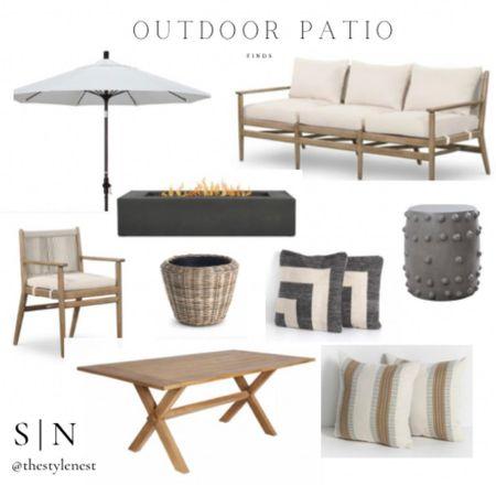 Outdoor patio oasis #patiodecor #patioideas #ltkseasonal #competition #patiopillows #outdoors #outdoordining #umbrellas http://liketk.it/3ityT #liketkit @liketoknow.it