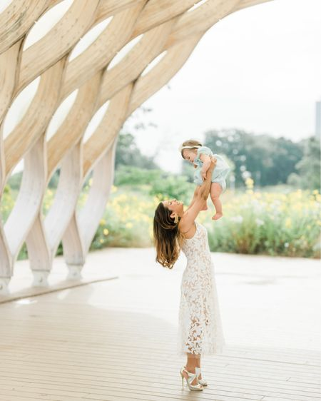 This is one of my favorite pictures! I love how much she was laughing when I did this.   This Dress the Population dress and the Janie and Jack dress are both on sale! Loving the stunning sequin detail against the nude bodice in my dress and the eyelet detail in hers. Grab this #motherdaughterlook now 💞   http://liketk.it/2Fwpw #liketkit @liketoknow.it #LTKwedding #LTKshoecrush #LTKsalealert #LTKstyletip #LTKunder100 #LTKfamily #LTKkids      Shop my daily looks by following me on the LIKEtoKNOW.it shopping app  Shop your screenshot of this pic with the LIKEtoKNOW.it shopping app