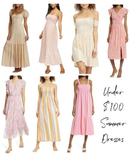 Nordstrom Summer Dress, Nordstrom Summer Finds, Nordstrom Summer Outfit,    http://liketk.it/3hV5G @liketoknow.it #liketkit  #LTKunder100 #LTKstyletip