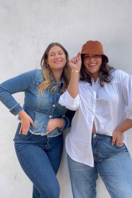 Size inclusive fall fashion. #denim #fallfashion #falltrends   #LTKcurves #LTKstyletip #LTKSeasonal