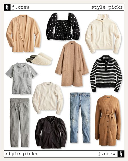 Loving these new fall styles from jcrew! So many great sweaters for fall! #sweater #falloutfit   #LTKunder50 #LTKstyletip #LTKunder100