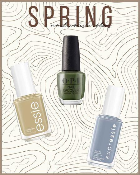 Spring nail polish colors feat. Essie, Chanel, Static Nails, OPI, Deborah Lipman.   http://liketk.it/3cTv9 #liketkit @liketoknow.it #LTKunder50 #LTKbeauty #LTKsalealert