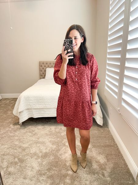Cute drop waist dress - perfect for fall! True to size.    #LTKstyletip #LTKunder50 #LTKSeasonal