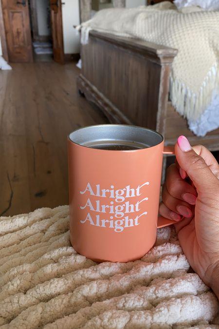 Alright Alright Alright mug from Target under $10    #LTKunder50 #LTKhome #LTKsalealert