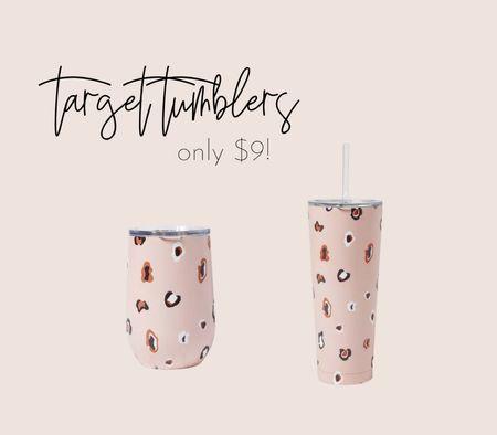 Cute target tumblers   #LTKstyletip #LTKsalealert #LTKunder50