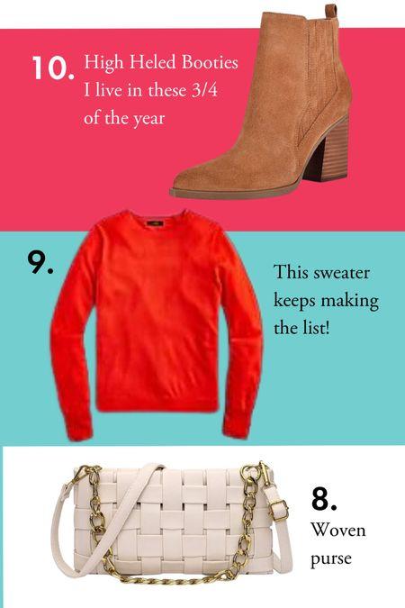 August's Top 10 Favorites