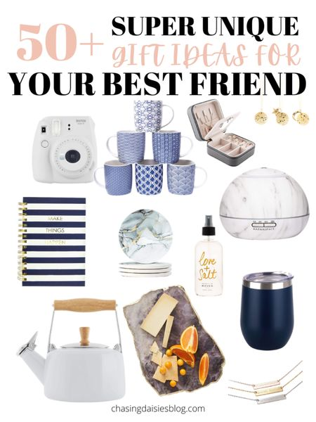 Shop these gifts for your best friend. These are the best gifts for BFF or gifts for her. If you're looking for gifts for your best friend then you'll love these BFF gifts! #giftsforbff #giftsforbestfriend #giftguide #giftsforher #liketkit @liketoknow.it #LTKunder50 #LTKSeasonal #LTKunder100 http://liketk.it/38rwC
