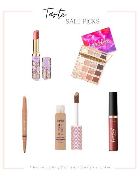 Tarte sale picks! Shape Tape has become a staple of mine and now they have Shape Tape Ultra Creamy!  Beauty   Tarte Cosmetics   makeup   makeup on sale   eyeshadow palette   tartelette juicy  #ltkday   #LTKbeauty #LTKsalealert