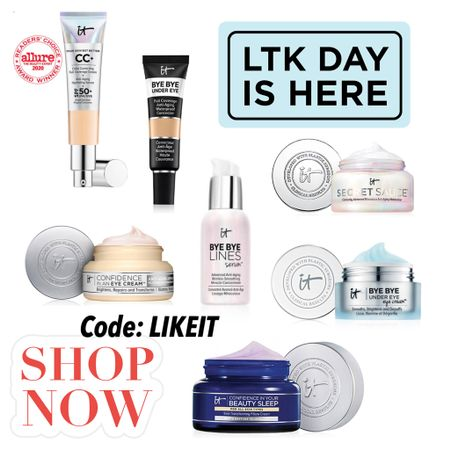 Use code LIKEIT to save on these amazing products! #liketkit @liketoknow.it http://liketk.it/3hjK2 #LTKDay #LTKsalealert #LTKbeauty Shop your screenshot of this pic with the LIKEtoKNOW.it shopping app Shop my daily looks by following me on the LIKEtoKNOW.it shopping app