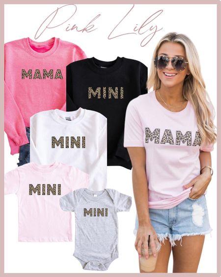 Pink Lily Mother Daughter Matching Shirts 🤍 Pink Lily fashion finds! Click the products below to shop! Follow along @christinfenton for new looks & sales! So excited you are here with me! 🤍 XoX Christin 🥰 @shop.ltk #liketkit #LTKGifts #LTKSale #LTKHoliday  #LTKstyletip #LTKshoecrush #LTKcurves #LTKitbag #LTKsalealert #LTKwedding #LTKfit #LTKworkwear #LTKunder50 #LTKunder100 #LTKbeauty