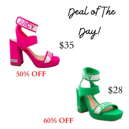 Macy's Deal of The Day!! Pair these beautiful Spring/Summer bright sandals with everything for a trendy look.   #LTKSpringSale #LTKshoecrush #LTKunder50 #LTKdealoftheday #womenshoes #liketkit @liketoknow.it   http://liketk.it/3bbuv Shop your screenshot of this pic with the LIKEtoKNOW.it shopping app