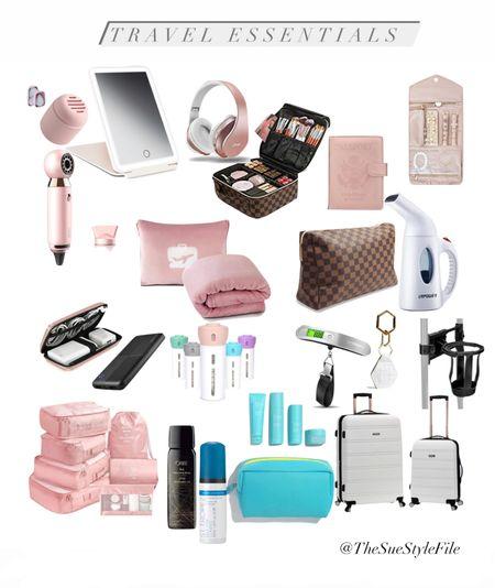 Amazon travel essentials. Travel must haves. Luggage.   #LTKsalealert #LTKtravel #LTKunder50