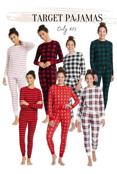 Target style Holiday pajamas   #LTKHoliday #LTKstyletip #LTKSeasonal
