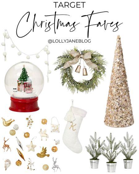 Target Christmas Faves!   #LTKSeasonal #LTKHoliday #LTKGiftGuide