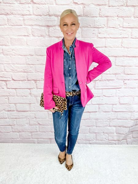 Blazer Look / Work Blazer / Workwear / Work Wear / Office Look / Office Outfit / Business Casual / Office Casual / Work Outfit / Tory Burch / Kate Spade /  Coach Handbags / Handbag /petite / over 40 / over 50 / over 60 / Fall Outfit / Fall Fashion    #LTKstyletip #LTKworkwear #LTKSeasonal