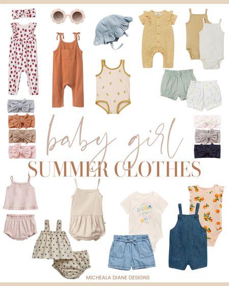 Baby girls summer clothes. Baby girl H&M, Baby Girl Old Navy, Baby Girl Gap, Baby Girl Target http://liketk.it/3fDx5 #liketkit @liketoknow.it #LTKbaby #LTKkids #LTKstyletip @liketoknow.it.family