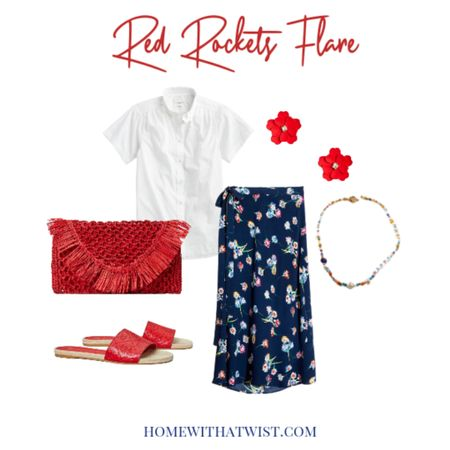 You will look so #july4thchic in these red accessories. http://liketk.it/3iGN9 @liketoknow.it #liketkit #LTKstyletip #LTKsalealert #LTKworkwear Download the LIKEtoKNOW.it app to shop this pic via screenshot