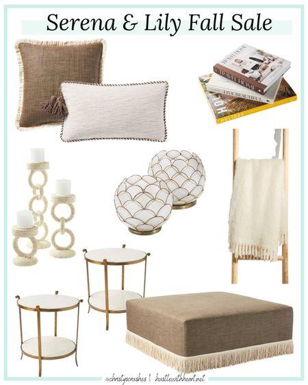 Serena & lily home decor sale, 20% off everything   #LTKsalealert #LTKunder100 #LTKhome