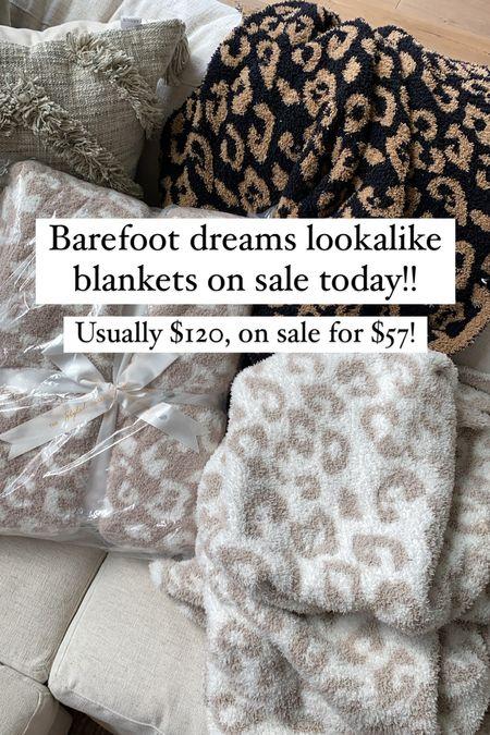 Discount should automatically apply but code is LTK40! Barefoot dreams dupes on sale!!   #LTKhome #LTKunder100 #LTKsalealert