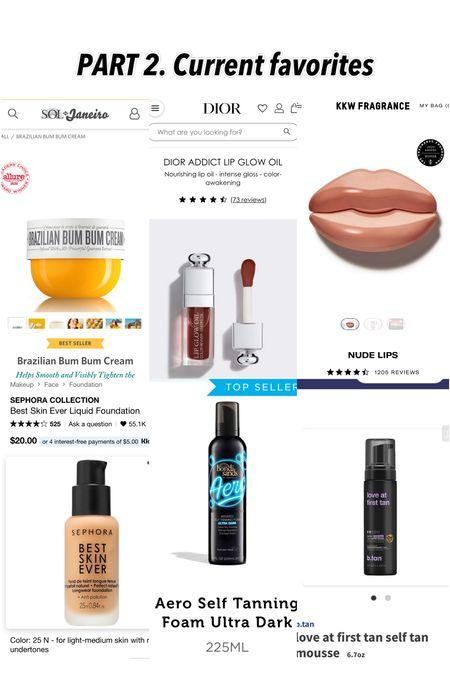 Current favorite products ❤️   #LTKsalealert #LTKstyletip #LTKunder50