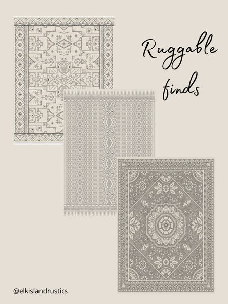 Gorgeous area rugs   #arearugs   #LTKhome #LTKstyletip