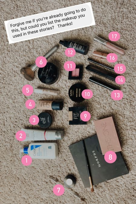 Full coverage makeup routine
