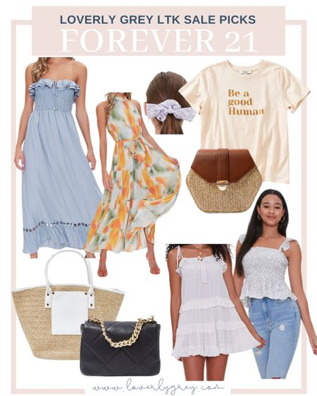Loving all the summer pieces from forever 21b grab them while they are on sale!