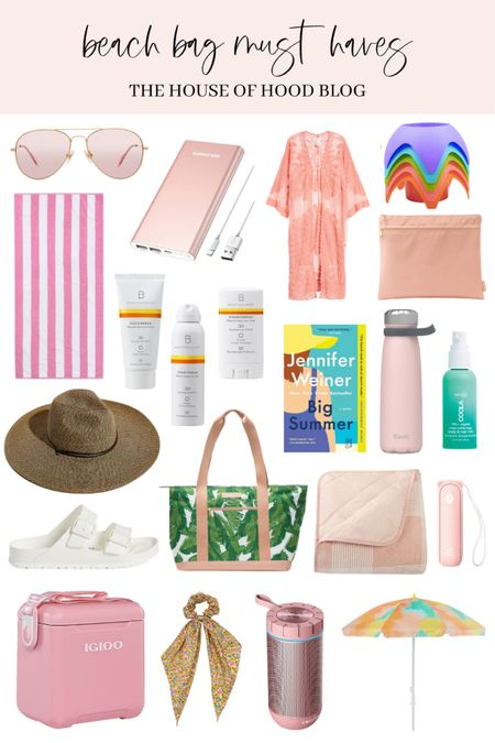 Beach bag must haves! 🏖🏄🏼♀️🌴👙   http://liketk.it/3eMby #liketkit @liketoknow.it #LTKbeauty #LTKunder50 #LTKswim   You can instantly shop all of my looks by following me on the LIKEtoKNOW.it shopping app