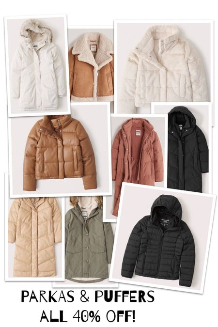 It's time, winter is coming! We just brought up all the winter gear from the basement and did the try on with the boys to see what still fit and what needed replaced.  A winter coat is a good investment piece, you want it to be comfortable, warm, good for layers, be a flexible color and you want to feel good in it. It's kind of hard to narrow it down to just one. I've started quite the collection honestly.  Now is the perfect time to add or replace when all @abercrombie parkas and puffer jackets are 40% off. My favorite coats are from @abercrombie.  So warm!!!    http://liketk.it/30seL #liketkit @liketoknow.it   Screenshot this pic to get shoppable product details with the LIKEtoKNOW.it shopping app
