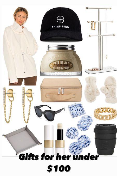 Gift guide for her under $100  #LTKGiftGuide #LTKunder100