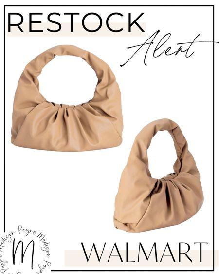 🚨RESTOCK ALERT🚨 this bag is back at Walmart! #walmart #walmartfinds #fallfashion #falloutfits #walmartdeals #walmartfashion #walmartstyle   #LTKstyletip #LTKitbag #LTKSeasonal