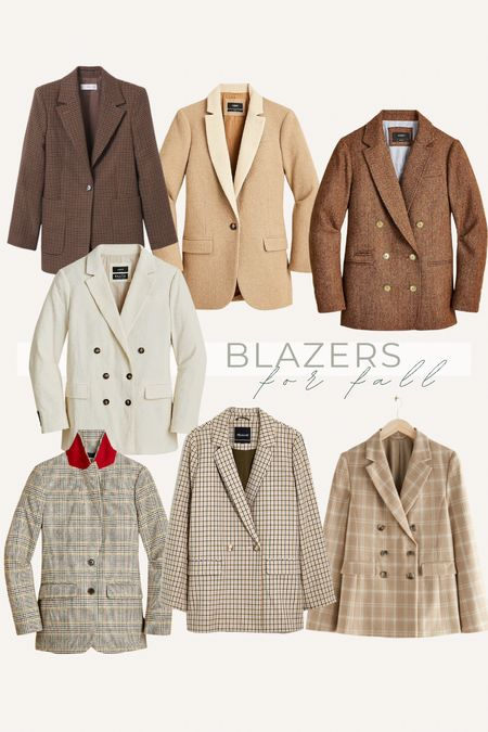blazers for fall, fall blazers to style   #LTKworkwear #LTKunder100 #LTKSeasonal