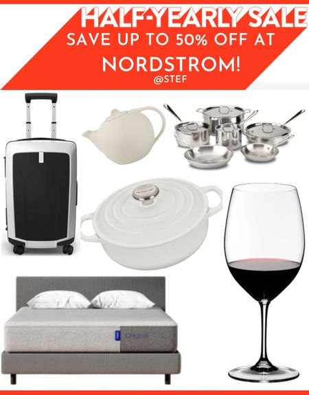 Save up to 50% off amazing home decor, furniture and everything you could need for a kitchen during the Nordstrom sale!    Glasses wine glasses silverware pot pots pan pans cookware teapot kettle Le cruset pot stock pot Dutch oven kitten suitcase luggage bed bedding pillows Casper mattress couch sofa Yoga mats yoga classes alo yoga membership massage gun massage therapy gym bag travel bag duffel bag incense holder incense burner water bottle water bottles am radio fm radio Bluetooth radio Bluetooth speaker   #LTKfit #LTKsalealert #LTKtravel  #LTKsalealert #LTKfamily #LTKhome  #LTKsalealert #LTKunder50 #LTKunder100
